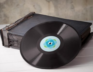 3 Vinyl Record Mockup Templates