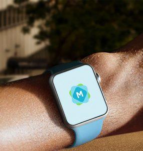 Apple Watch Sport on Male Arm
