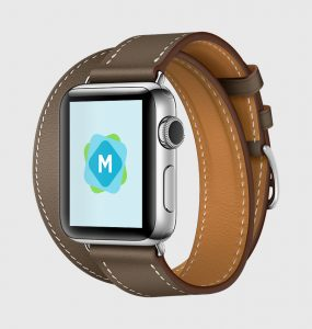 Apple Watch Hermes Leather Strap Mockups