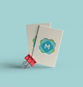 Business Card Clip Mockup