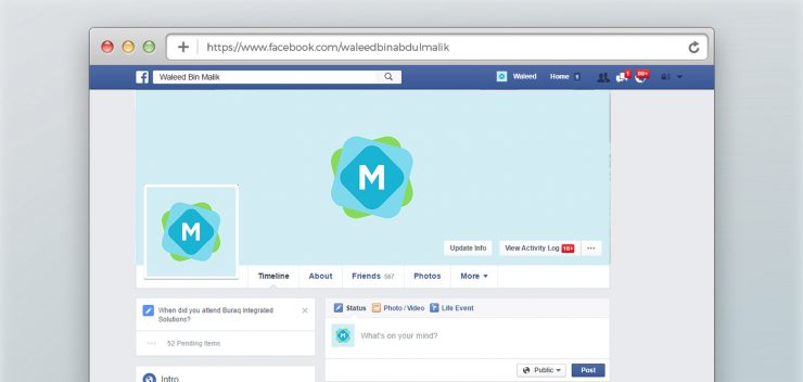 Facebook Cover Mockup Graphics