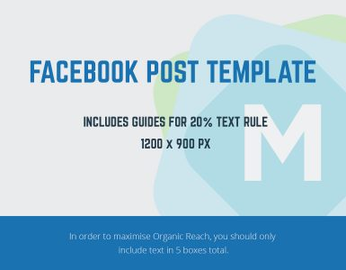 Facebook Post Template PSD