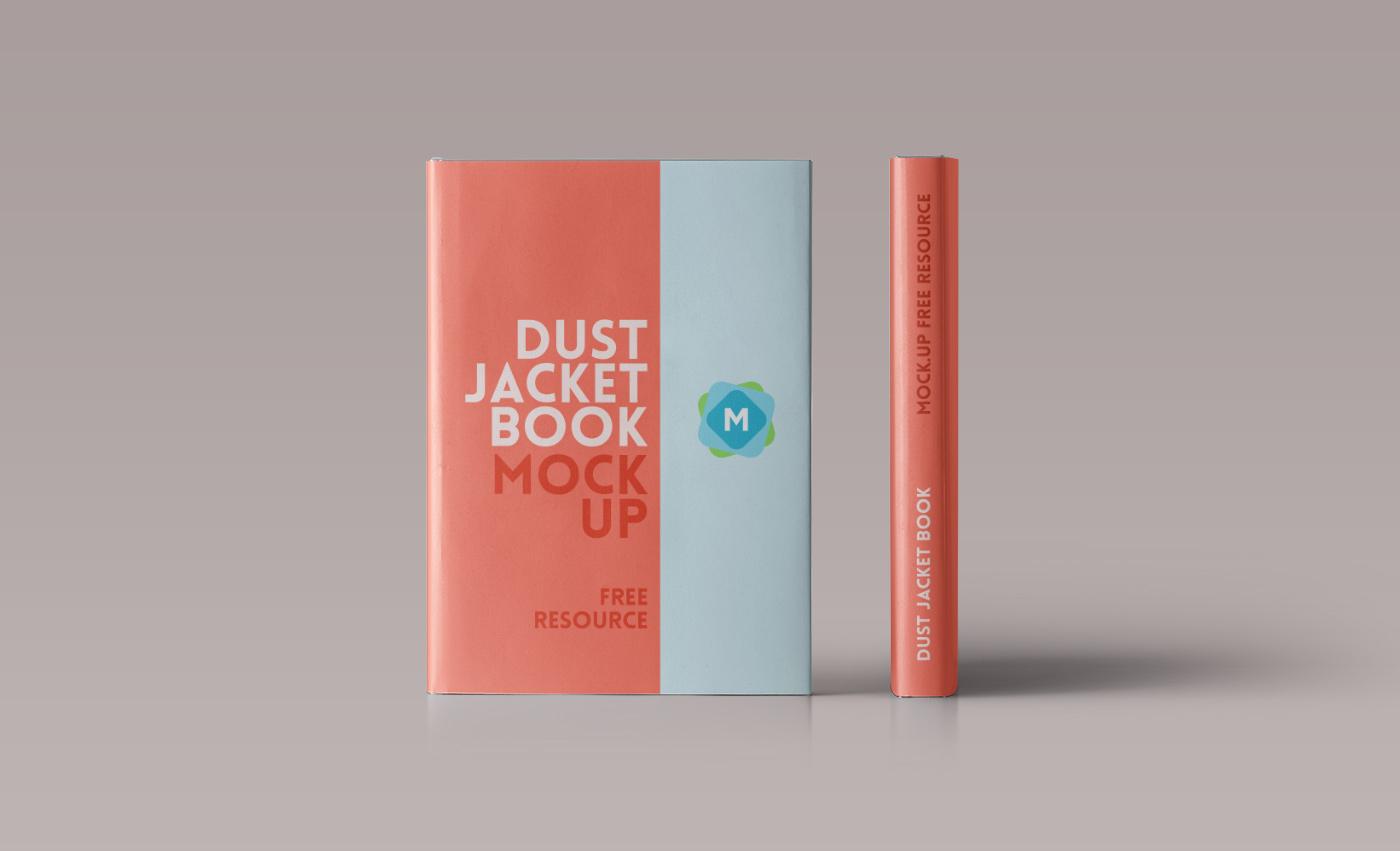 hardcover-book-mockup-psd - Mockup Templates