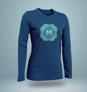 Long & Short Sleeve T-Shirt Mockups