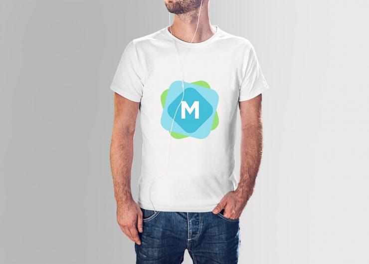 Men's T-Shirt & Jeans Mockup PSD