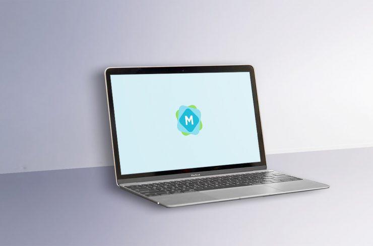 Minimal MacBook Mockup