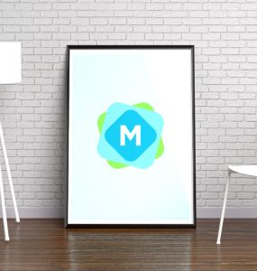 Modern Poster Frame Gallery Mockup