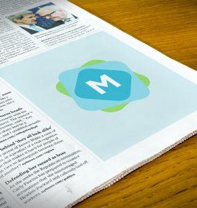 Quarter Page Newspaper Ad Mockup