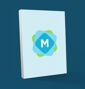 Softcover Book Cover Mockup PSD