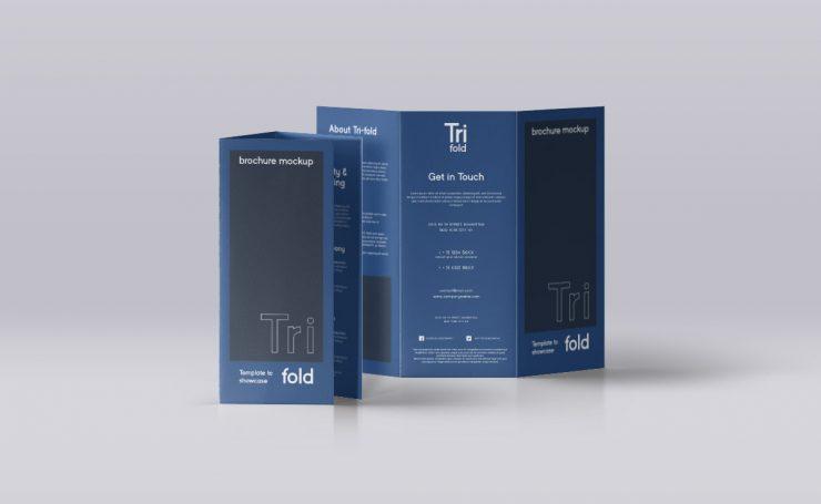 Standing Tri-Fold Brochure