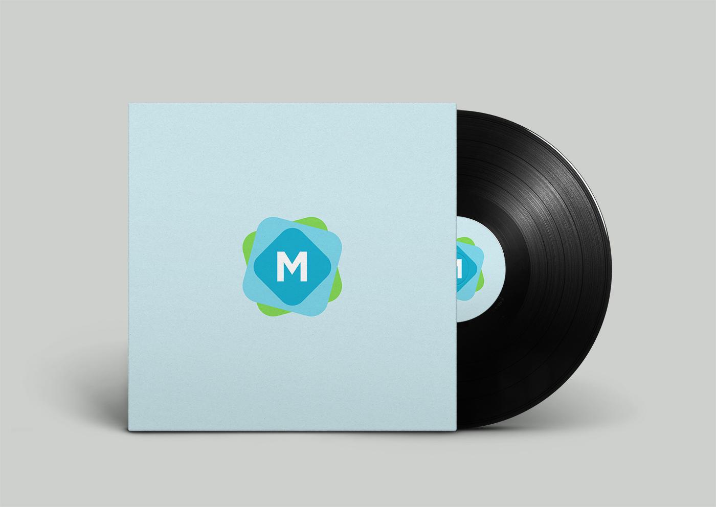 Vinyl Record Cover Mockup - Mockup Templates