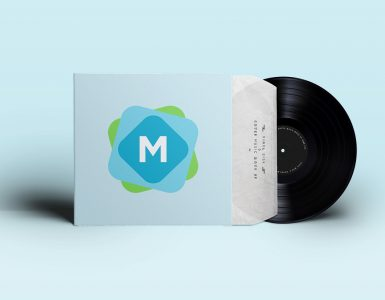 Vinyl Record Cover & Sleeve Mockup