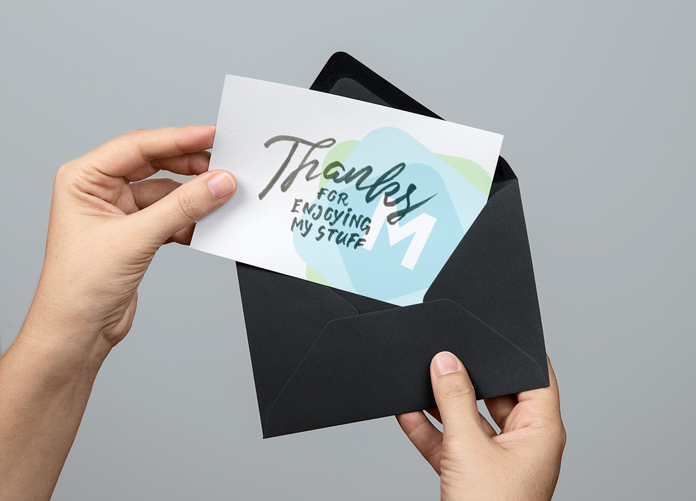 Greeting card envelope mockup psd mockup templates kristyandbryce Gallery