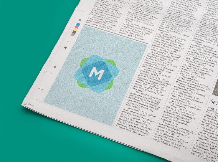 Newspaper Corner Ad Mockup Mockup Templates