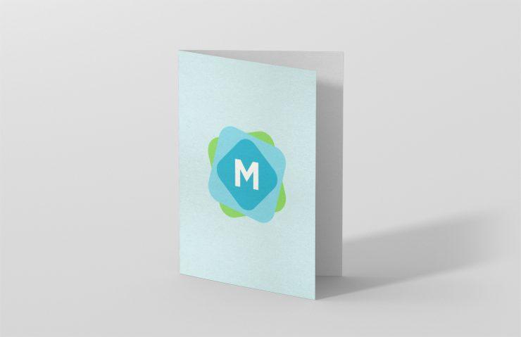 Standing A5 Bi Fold Brochure Mockup Mockup Templates