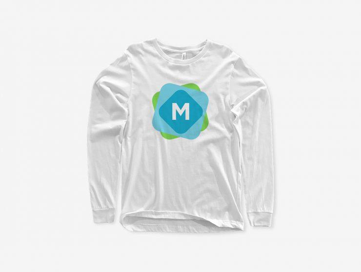 Long Sleeve T Shirt Mockup Psd Mockup Templates