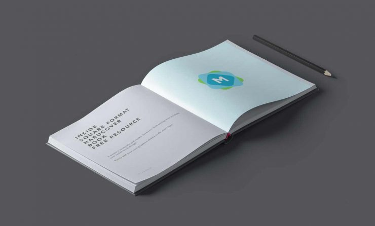 Isometric Book Mockup Template Mockup Templates